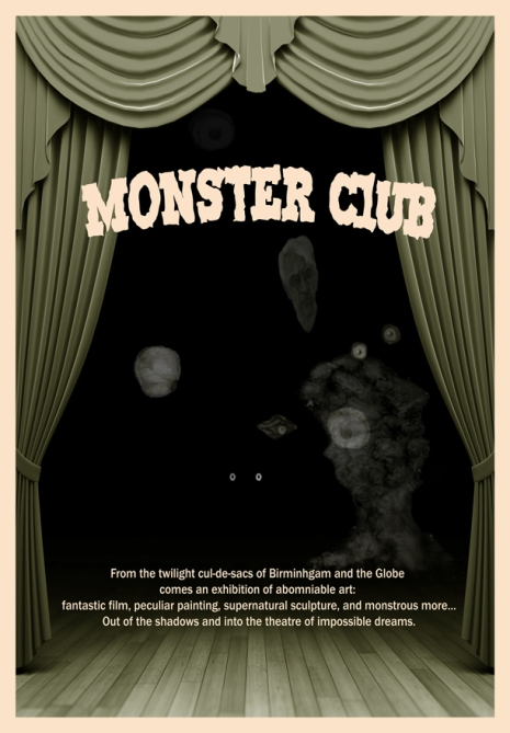 Monster Club Flyer front
